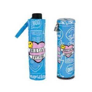 paraguas-plegable-en-lata-smiley-funny-azul