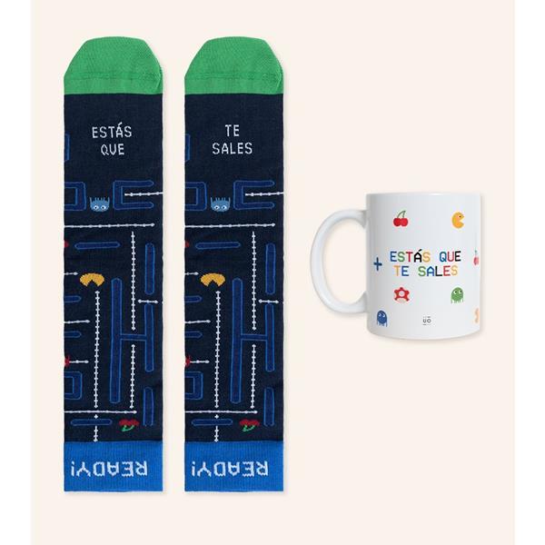 kit-gamer-taza-calcetines-estas-que-te-sales (1)
